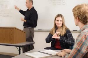 terp in classroom